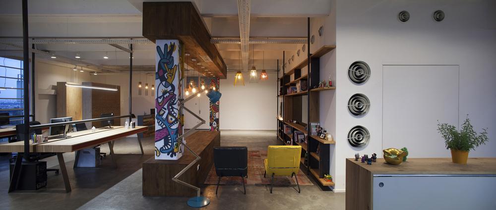 Офис в стиле лофт идеален для творческих компаний