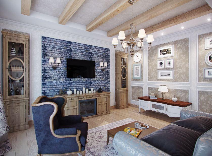 Не забывайте про детали: картины на стенах, светильники и коврики прекрасно дополнят вашу гостиную