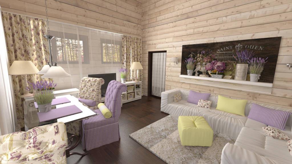 Комната в прованском стиле - идеальное решение для утонченных натур