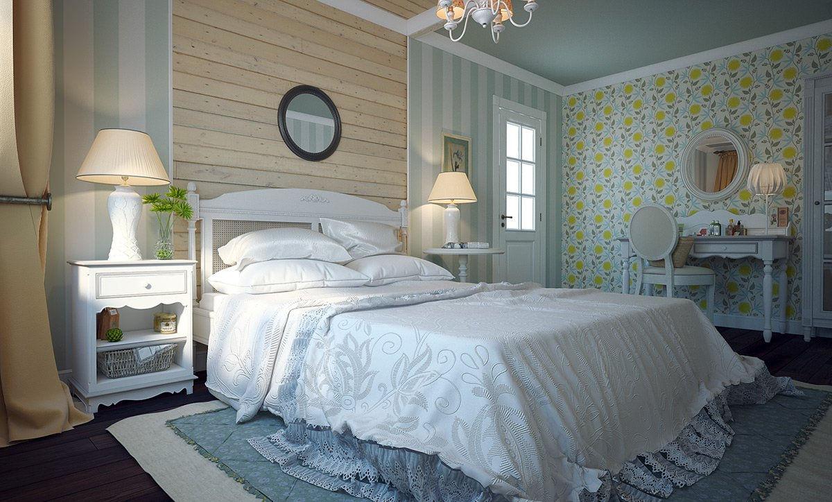 Пробуйте сочетать разные узоры и оттенки одного цвета в одной комнате