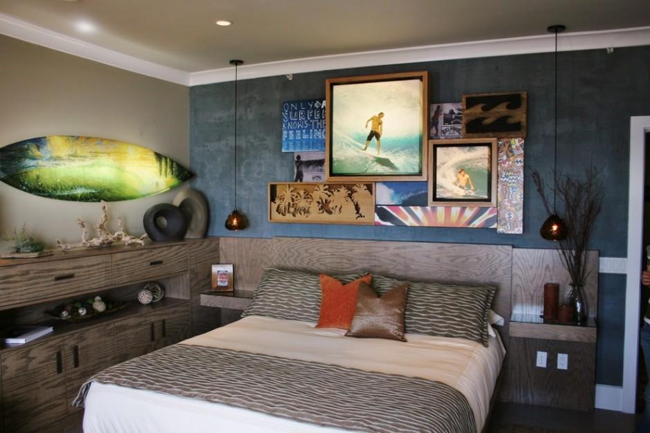 Комната для любителя сёрфинга