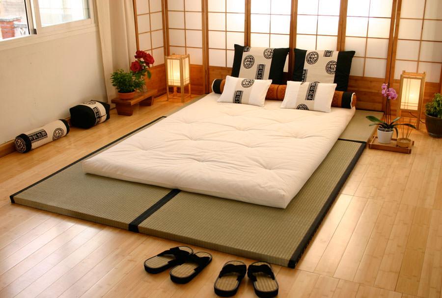 Спальня в японском стиле для подростка