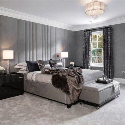 Вариант спальни в стиле арт-деко