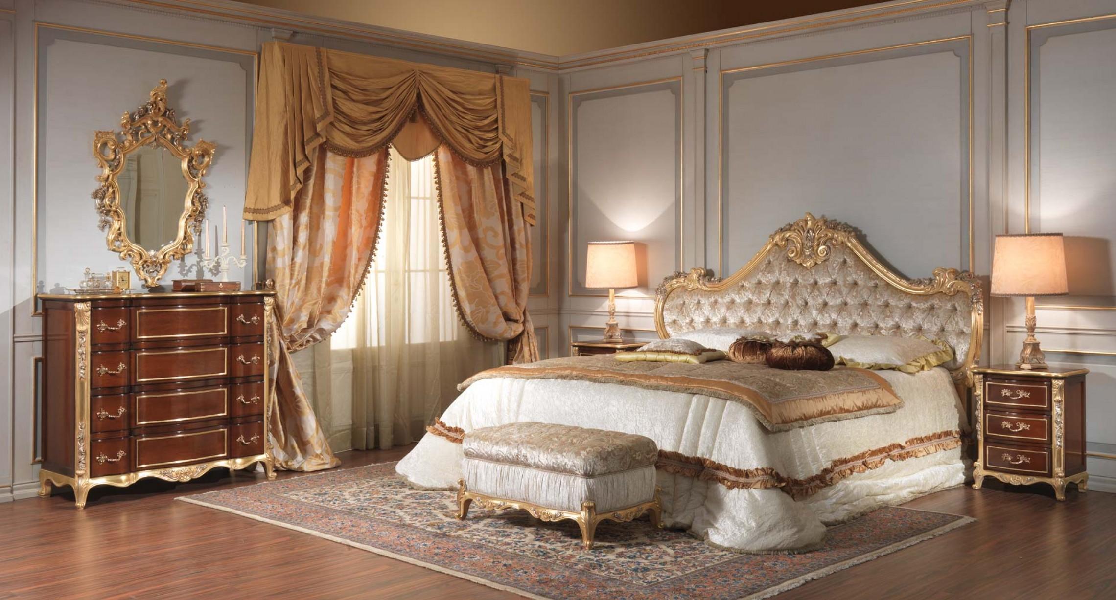 Стиль рококо отличается богатой отделкой, утонченностью и изысканностью