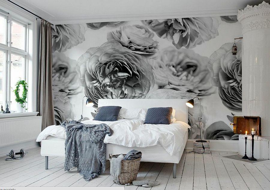 Спальня с фото-обоями