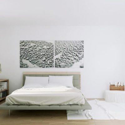 Функциональная спальня в скандинавском стиле