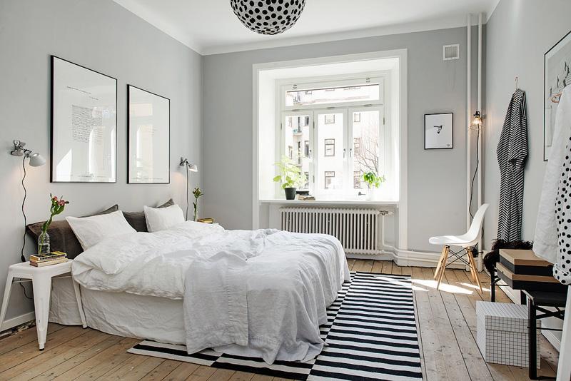 В скандинавском стиле преобладает белый цвет