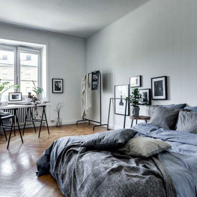 Сканинавская спальня