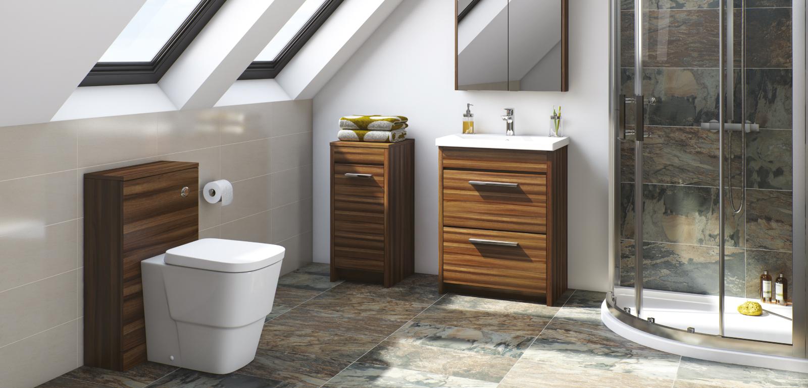 Если размеры ванной позволяют, то в ней можно разместить не только необходимую мебель, но и дополнительные шкафчики