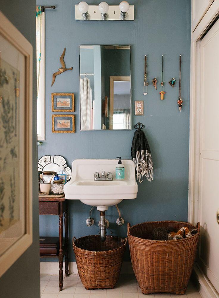 Предметы декора в ванной