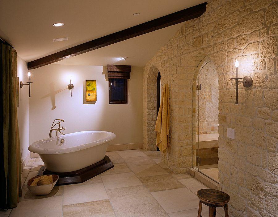 Натуральный камень - это дорогой, но очень эффектный материал для отделки как стен, так и полов