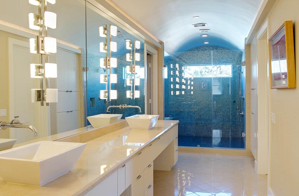 Плитка занимает первое место среди отделочных материалов для ванной