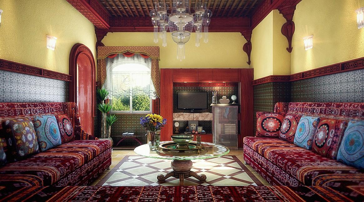 Гостиная по-арабски