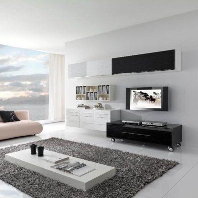 Минимализм и современность гостиной