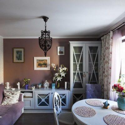 Гостиная и роль цветов