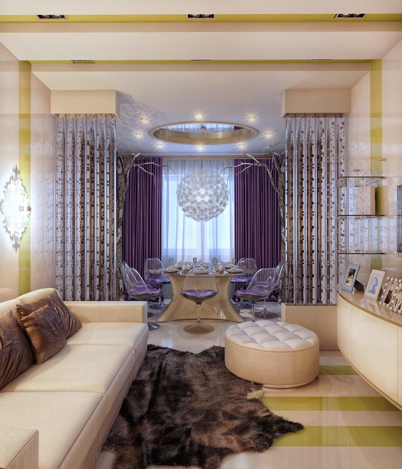 В картинках как оформить зал в квартире