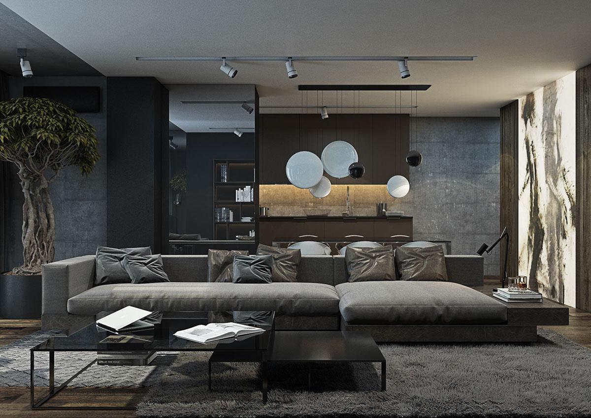 Богатая гостиная