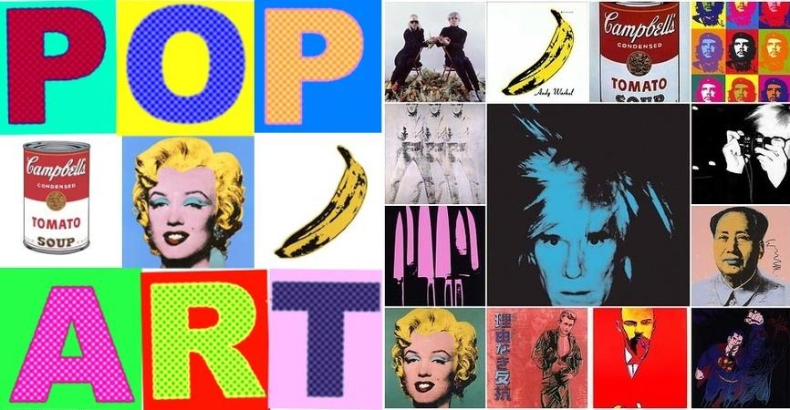 Стиль поп-арт в искусстве