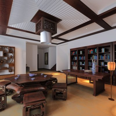 Большой кабинет офиса