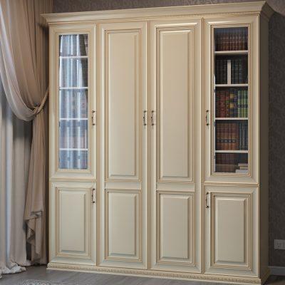 Белый шкаф для вещей