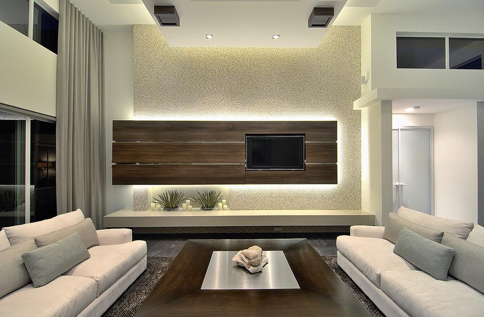 Модерн гостиная