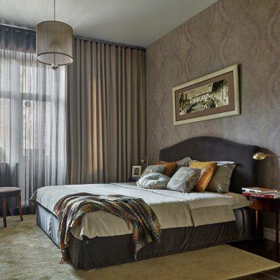 Хозяйская ретро спальня