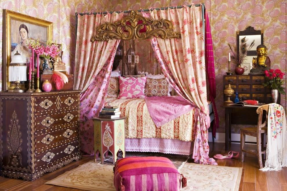 Спальная в восточном стиле