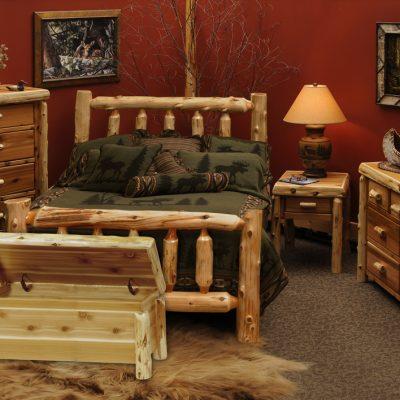 Мебель из бревна
