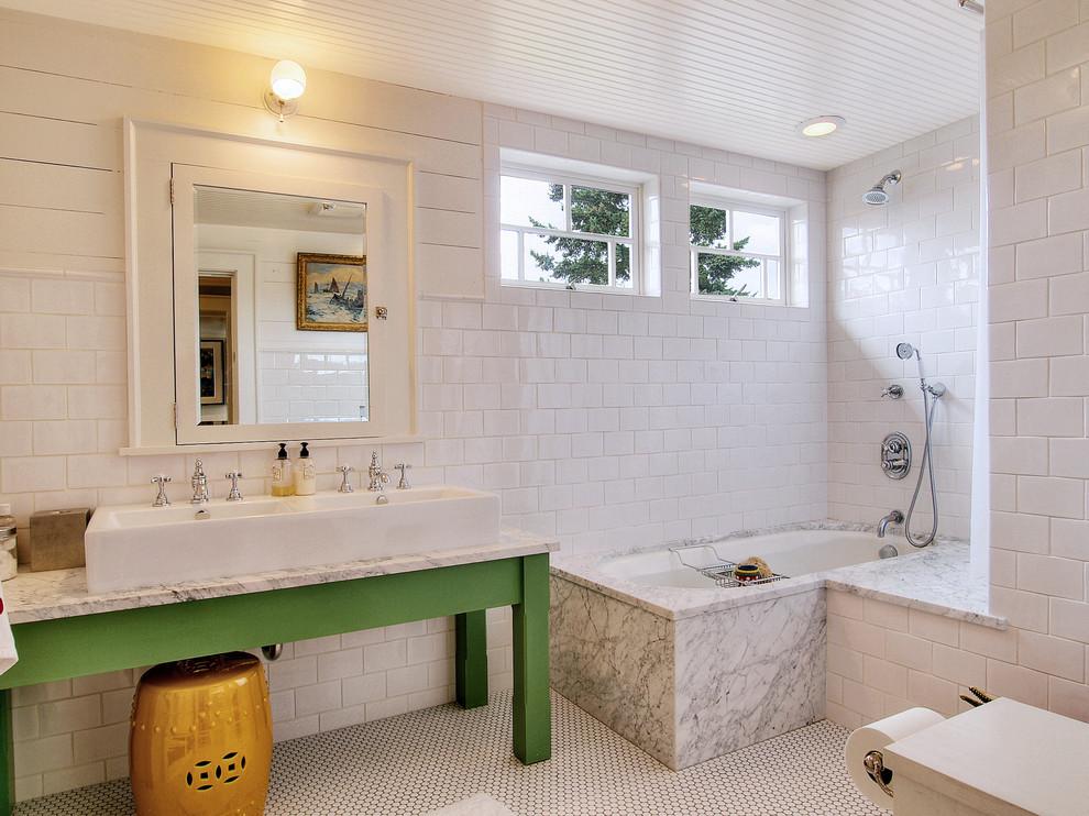 Черты стиля в ванной