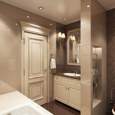 Цветовая гамма ванной