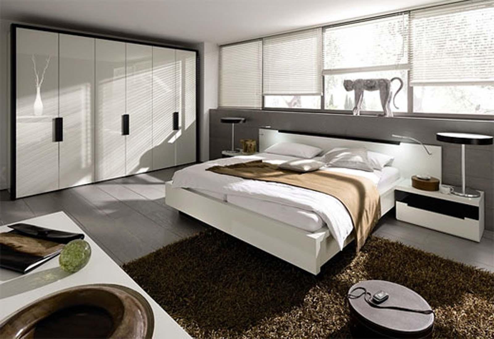 Декор спальни в стиле модерн