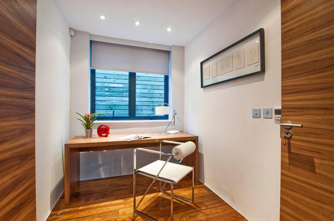 Декоративные элементы в интерьере кабинета