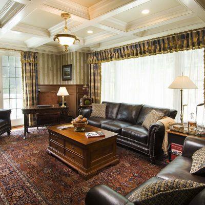 Дизайн гостиной в английском стиле картинка
