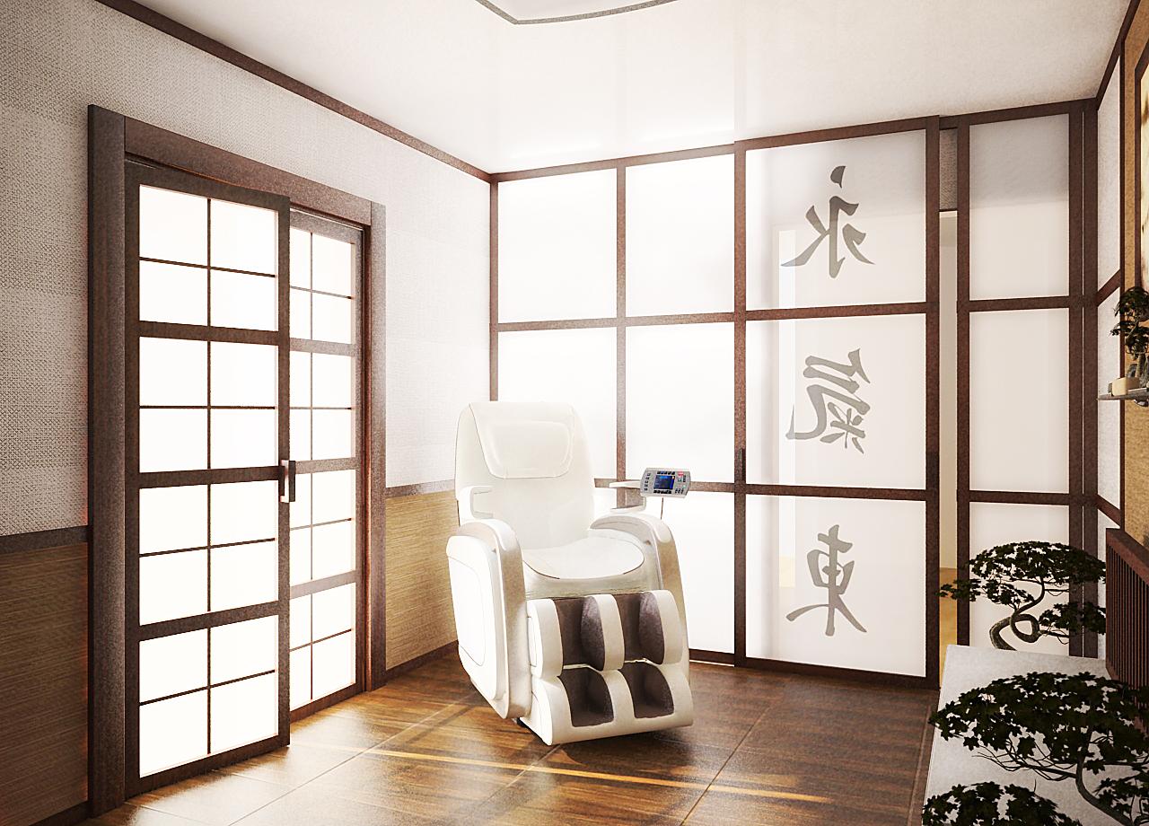 Стильный японский дизайн