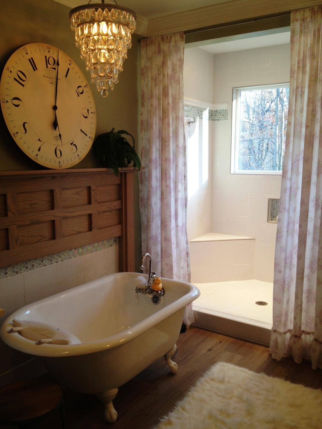 Мебель для ванной в стиле ретро: принципы подбора