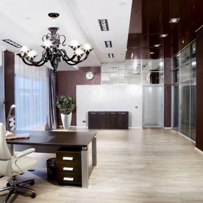 Уютный вариант кабинета-гостиной