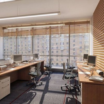 Многоуровневый офис-стиль