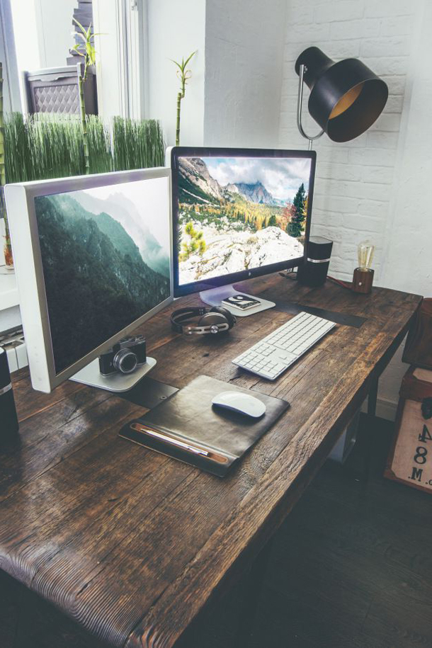 Пример оформления рабочего стола