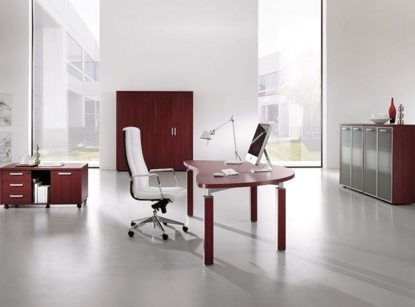 Как должен выглядеть рабочий кабинет в стиле хай-тек