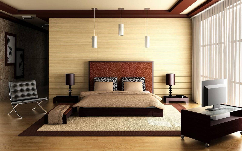 Модная и минималистичная комната в современном стиле