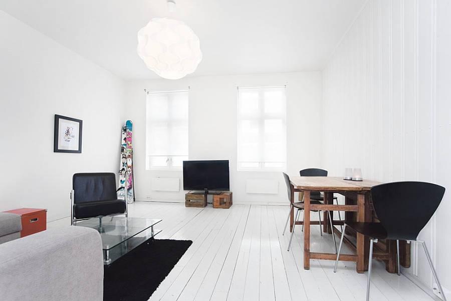 Комната с элементами минимализма