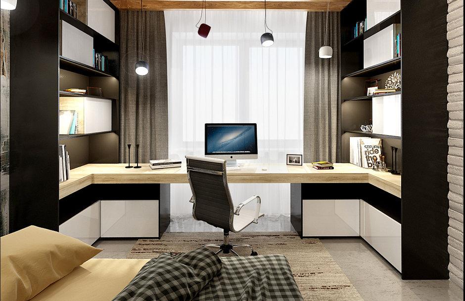 Комната студента в современном стиле фото