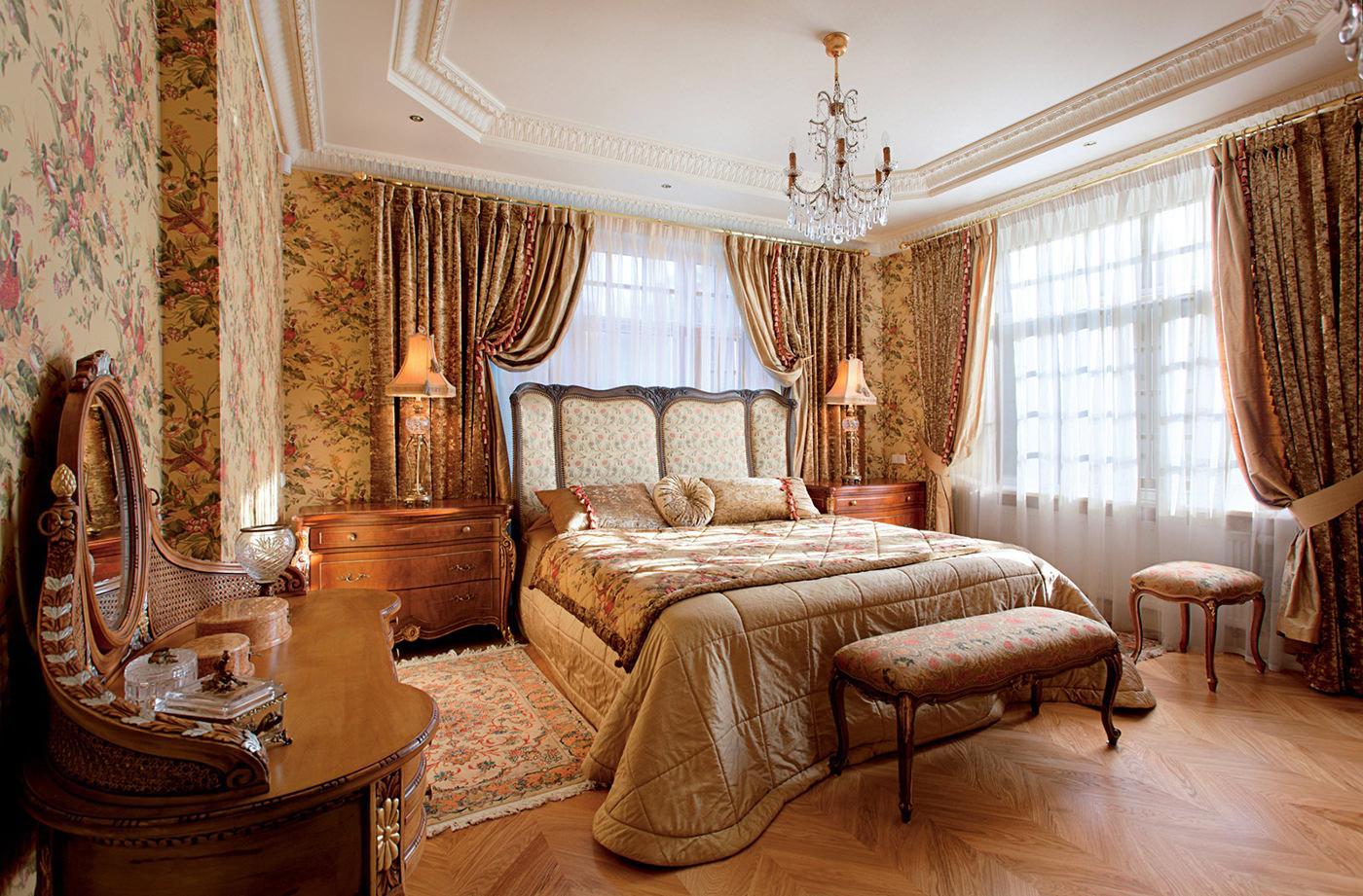 Комната в английском стиле