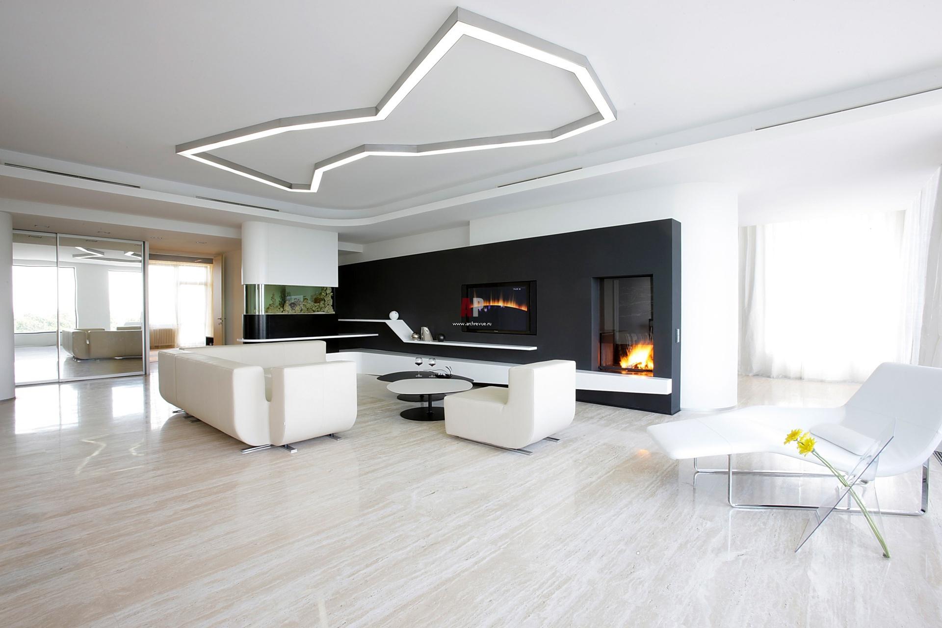 Комната в минимализм стиле