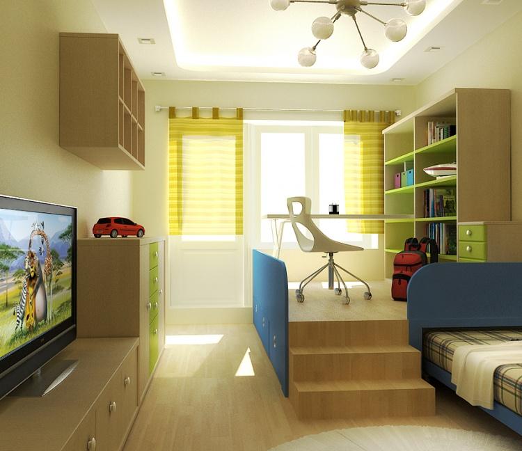 Красивое и комфортное оформление комнаты фото