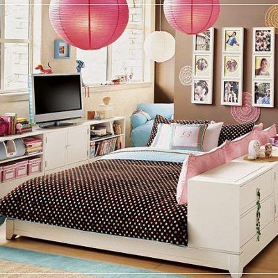 Личная комната девочки