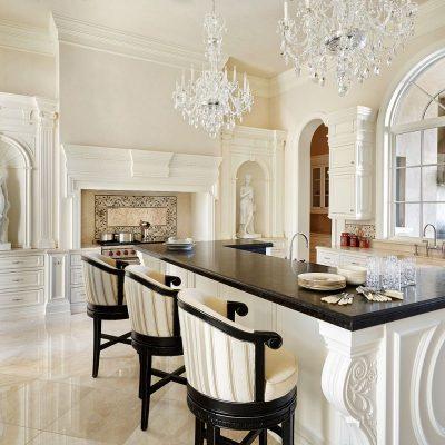 Белые цвета кухни