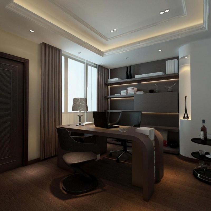 людмила решила дизайн рабочего кабинета в квартире фото особого значения