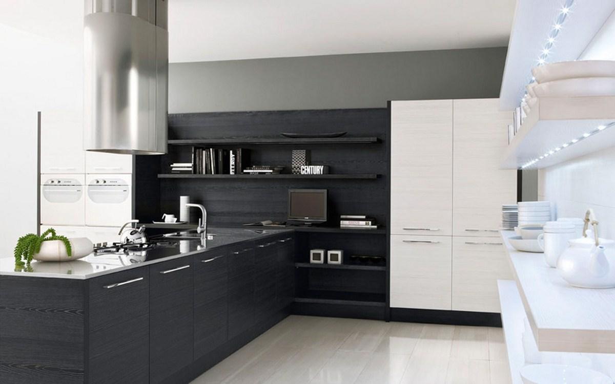 Современные цвета кухни