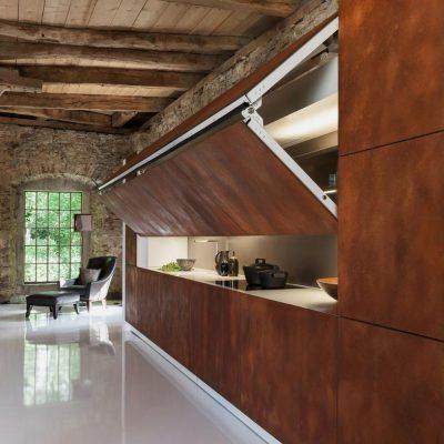 Выдвижные ящики кухни